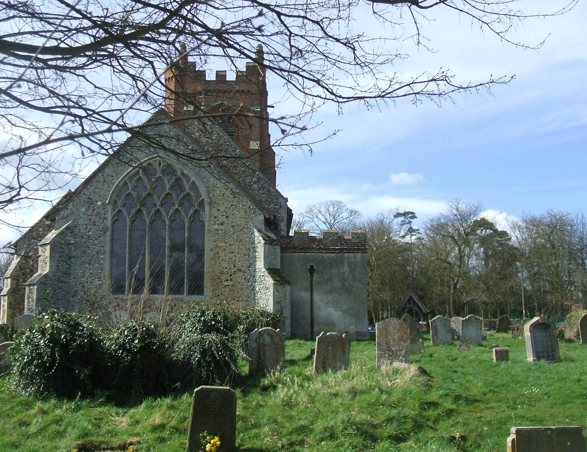 Gestingthorpe church